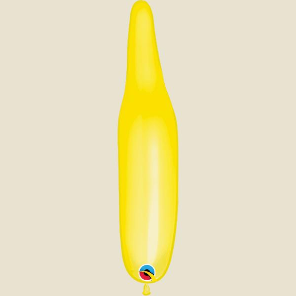 321Q Yellow Qualatex Modelling Balloon