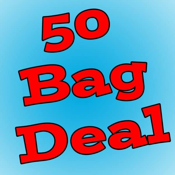 50 bag deal, the cheapest Qualatex modelling balloon deal.