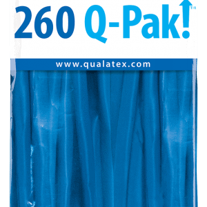 Dark Blue Q-Pak Qualatex Modelling Balloons 260Q