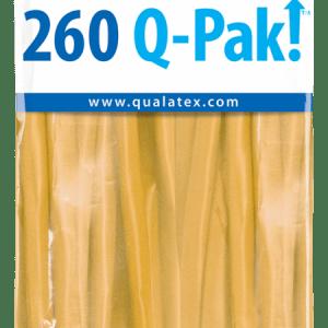 Goldenrod Q-Pak Qualatex Modelling Balloons 260Q