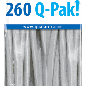 Grey Q-Pak Qualatex Modelling Balloons 260Q