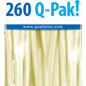 Ivory Silk Q-Pak Qualatex Modelling Balloons 260Q