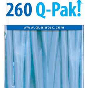 Periwinkle Q-Pak Qualatex Modelling Balloons 260Q