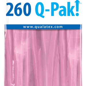 Pink Q-Pak Qualatex Modelling Balloons 260Q
