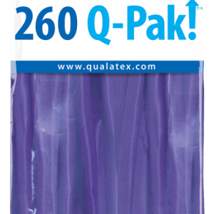 Purple Violet Q-Pak Qualatex Modelling Balloons 260Q