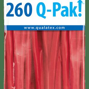 Red Q-Pak Qualatex Modelling Balloons 260Q