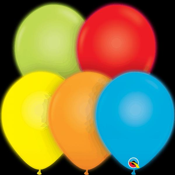 "Q-Lite Light up LED Qualatex Modelling Balloon 11"""