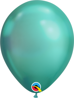 Chrome Green Qualatex Modelling balloon round 11""