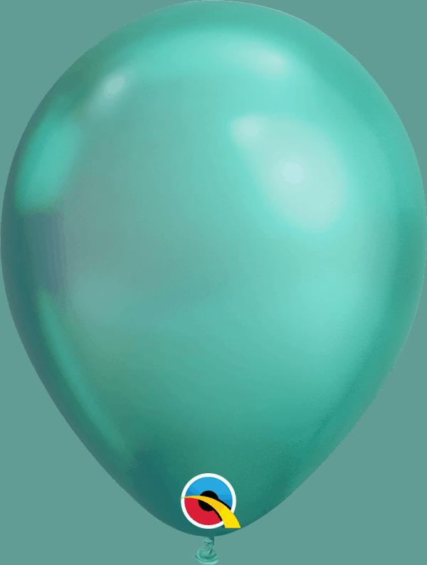 Chrome Green Qualatex Modelling balloon round
