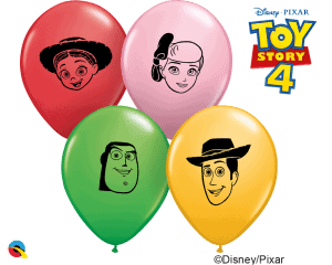 Toy Story Qualatex 5 inch prints modelling balloons